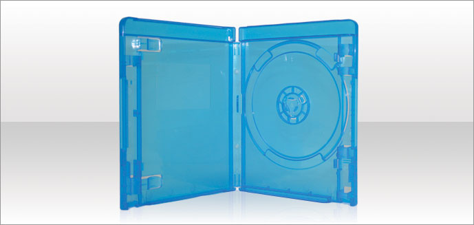 how to open blu ray security case